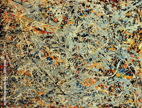 Untitled 1948 2 By Jackson Pollock (Inspired By)