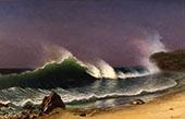 After a Norther, Bahamas, c1878 By Albert Bierstadt