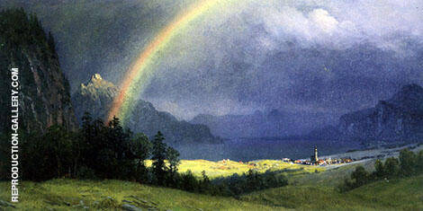 After the Shower By Albert Bierstadt