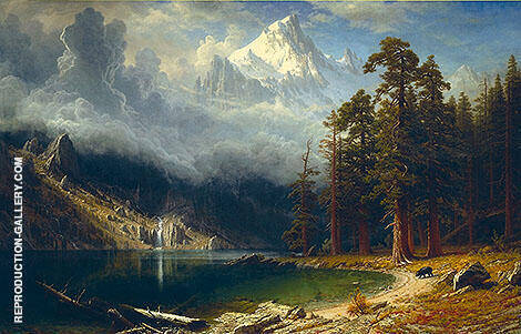 Mount Corcoran 1876 By Albert Bierstadt