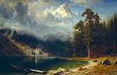 Mount Corcoran 1876 By Albert Bierstadt
