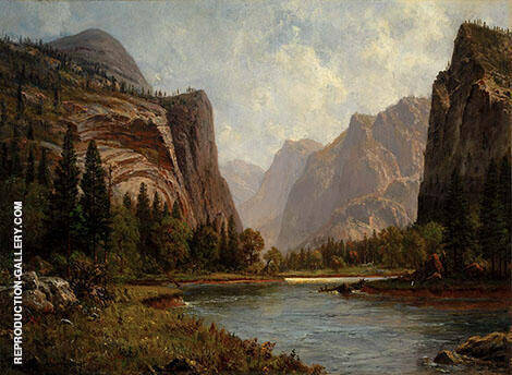 Gates of the Yosemite By Albert Bierstadt