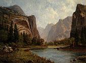 Gates of the Yosemite By Albert Bierstadt