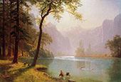 Kern's River Valley, California, 1871 By Albert Bierstadt