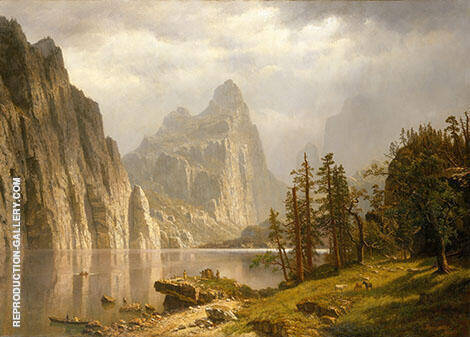 Merced River, Yosemite By Albert Bierstadt