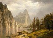 Merced River, Yosemite By Albert Bierstadt