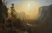 Yosemite Valley, Glacier Point Trail 1873 By Albert Bierstadt