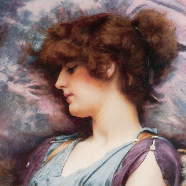Oil Painting Reproductions of john-william-godward