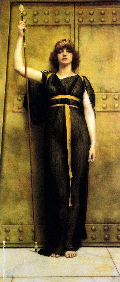 The Priestess 1895 By John William Godward