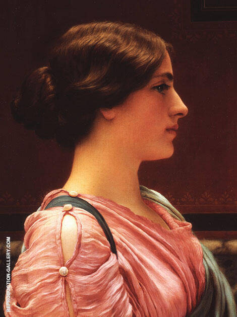 Classical Beauty By John William Godward