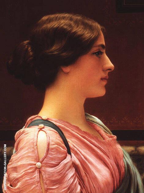 Classical Beauty By John William Godward