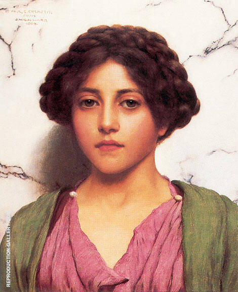 Classical Beauty1909 By John William Godward