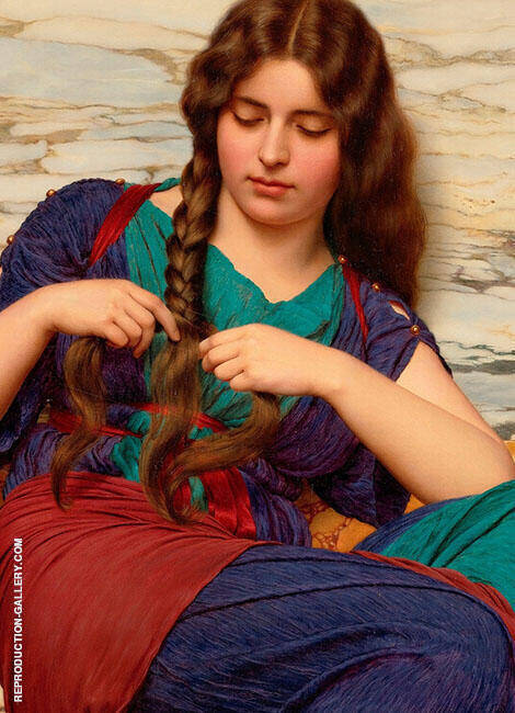 Classical Maiden 1899 By John William Godward