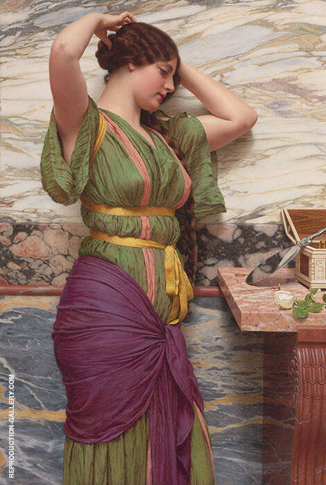 Classical Maiden 1899 By John William Godward