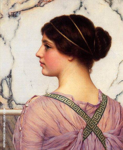 A Grecian Lovely 1909 By John William Godward