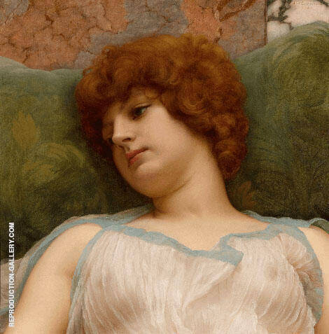 Idle Moments By John William Godward
