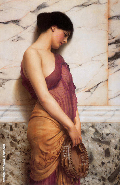 The Tambourine Girl 1906 By John William Godward