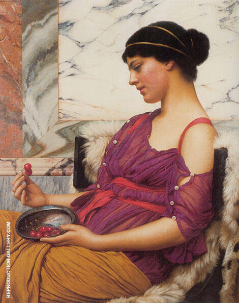 Ismenia 1908 By John William Godward