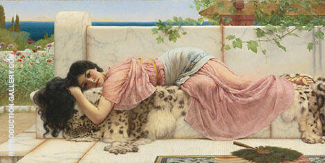 When the Heart is Young By John William Godward