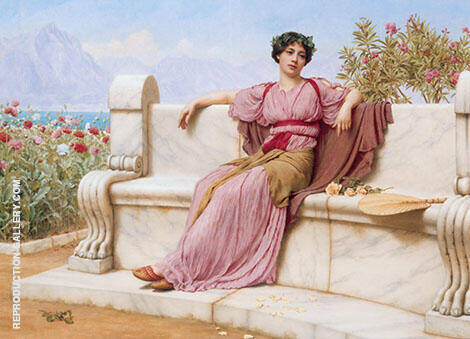 Tranquility 1914 By John William Godward