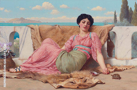 The Quiet Poet 1906 By John William Godward