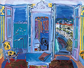 The Open Window 1928 By Raoul Dufy