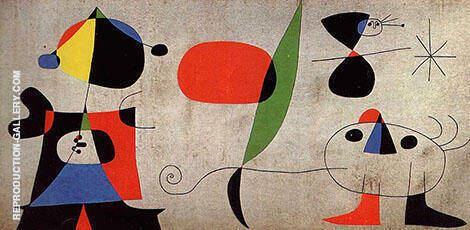 Joaquim Gomis Mural Painting By Joan Miro - Reproduction Gallery