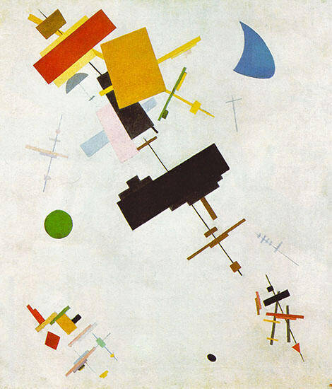 Supremus No 56 By Kazimir Malevich