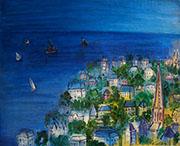 A Baie de Sainte Adresse By Raoul Dufy