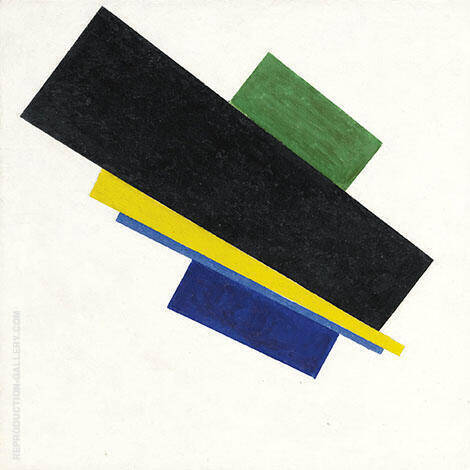 Suprematism 18 By Kazimir Malevich