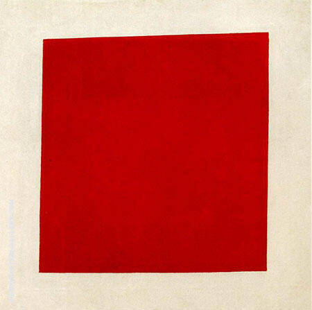 Red Square 1915 By Kazimir Malevich