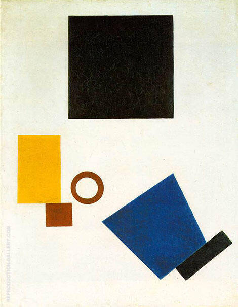 Self-Portrait in Two Dimension 1915 By Kazimir Malevich
