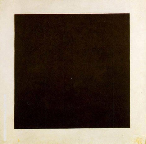 Black Square c1923 By Kazimir Malevich