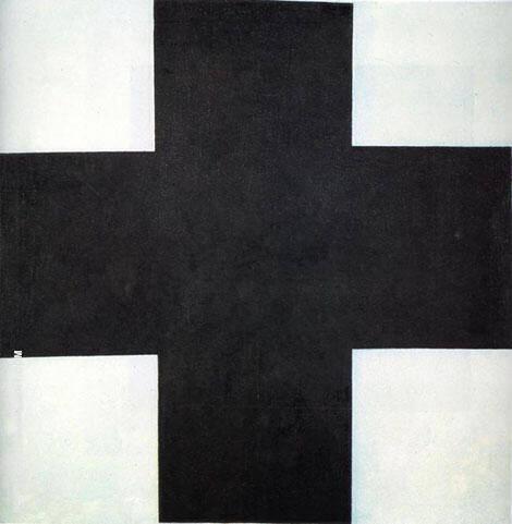Black Cross By Kazimir Malevich