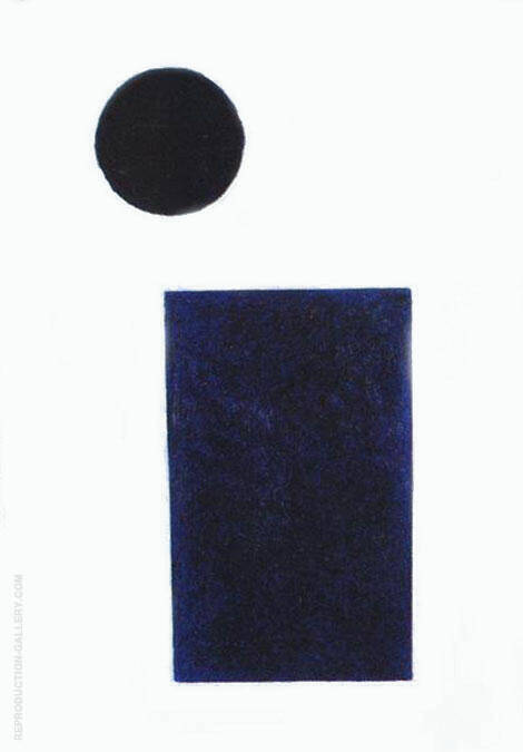 Quadrilateral and the Circle By Kazimir Malevich