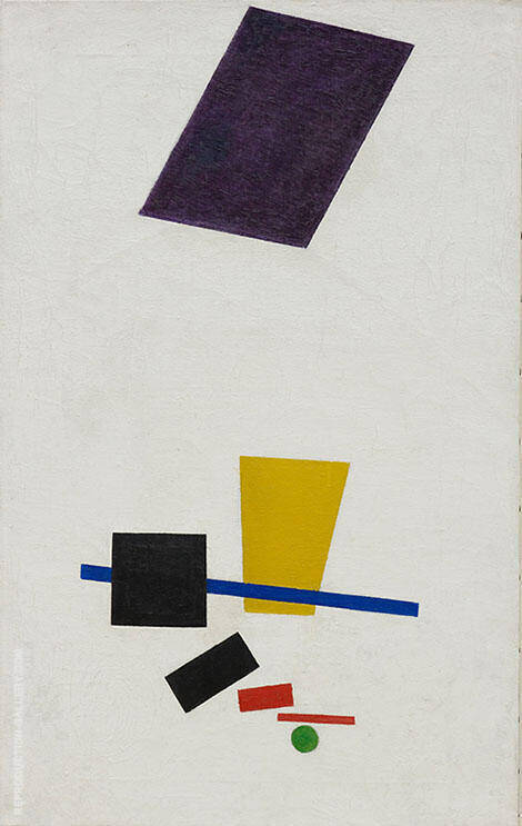 Painterly Realism of a Football Player By Kazimir Malevich