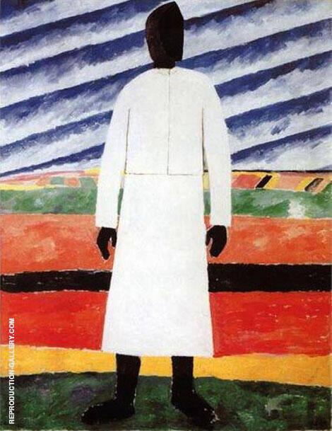 Peasant Woman By Kazimir Malevich