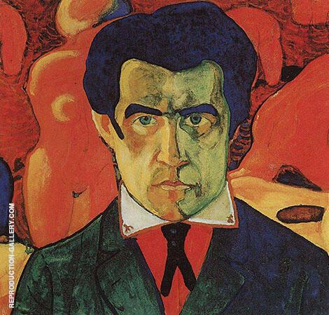 Self-Portrait By Kazimir Malevich