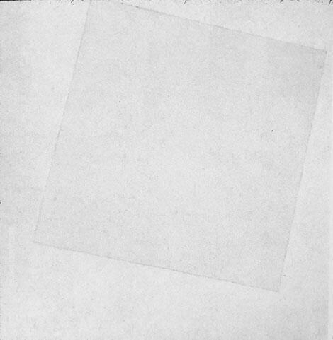 White on White 1917 By Kazimir Malevich