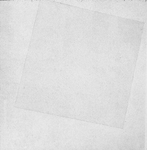 White on White 1917 By Kazimir Malevich