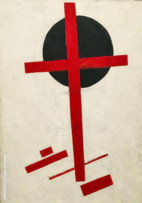 Mystic Suprematism By Kazimir Malevich