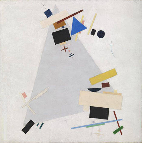 Dynamic Suprematism 1915 By Kazimir Malevich