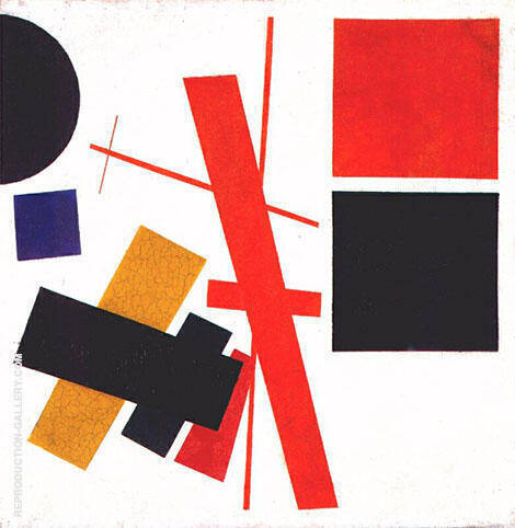 Suprematism Non-Objective Composition 1916 By Kazimir Malevich