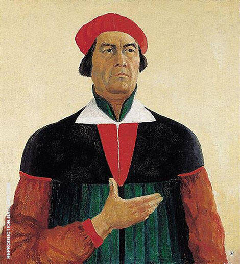 Self-Portrait 1933 By Kazimir Malevich