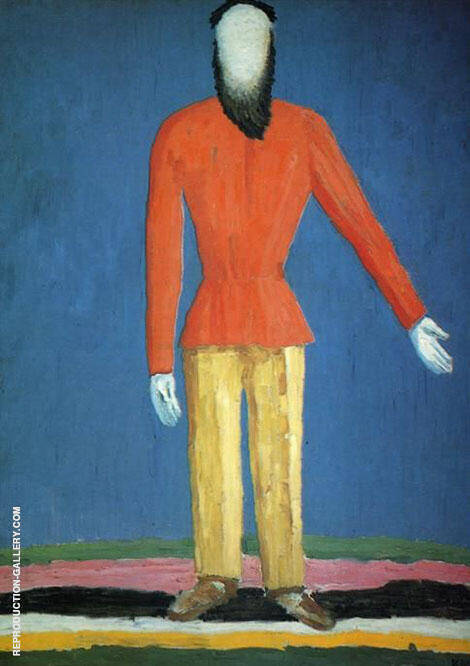 The Peasant By Kazimir Malevich