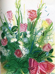 Bouquet of Roses By Raoul Dufy