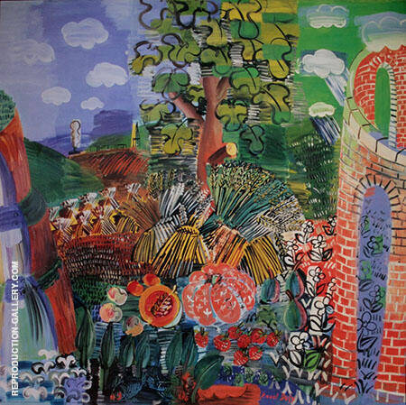 Composition 1924 Painting By Raoul Dufy - Reproduction Gallery