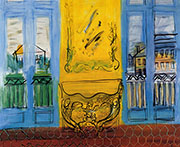 Console with Two Windows 1948 By Raoul Dufy