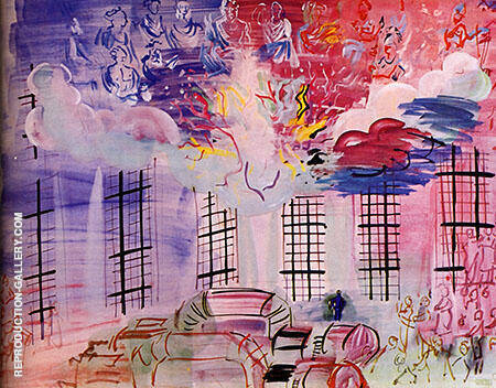 Electricity 1937 By Raoul Dufy