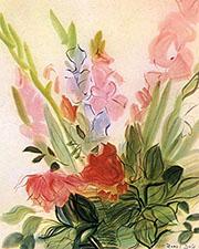 Gladioli 1942 By Raoul Dufy